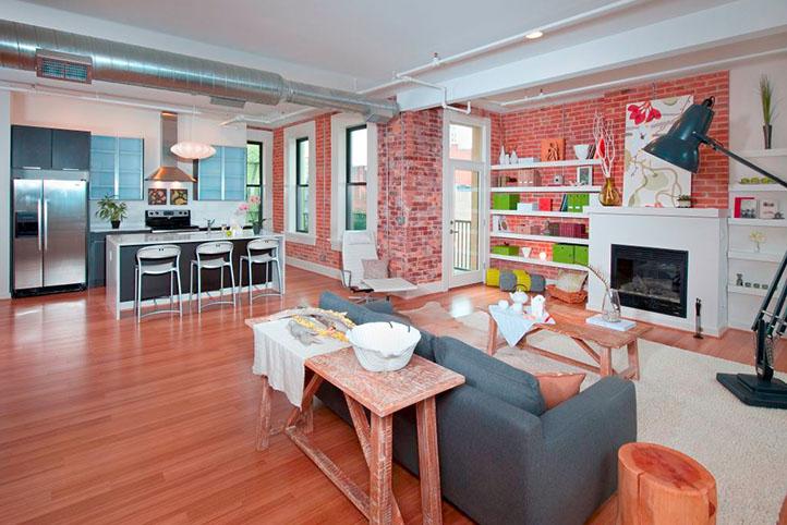 Lofts of Mottainai interior open living space