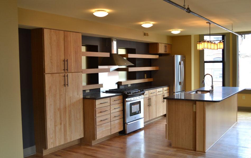 Nicolay Condos Interior Kitchen