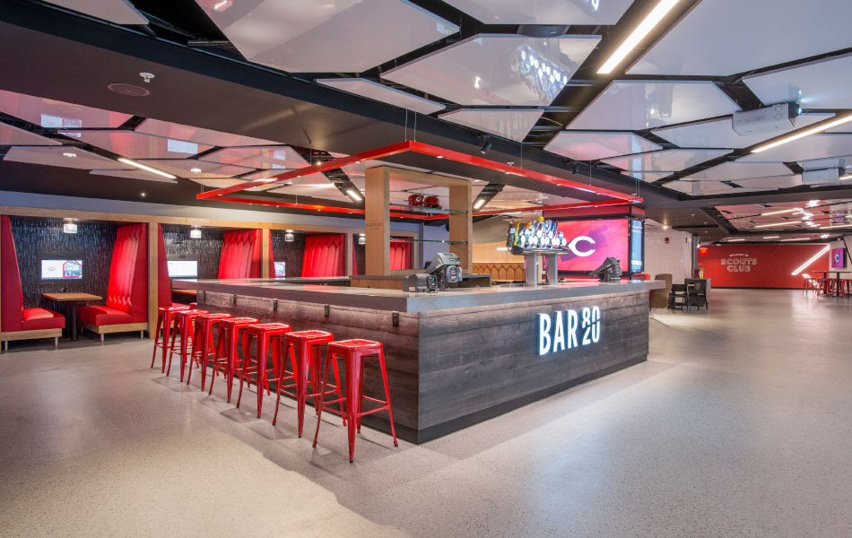 GABP Scouts Club bar and restaurant