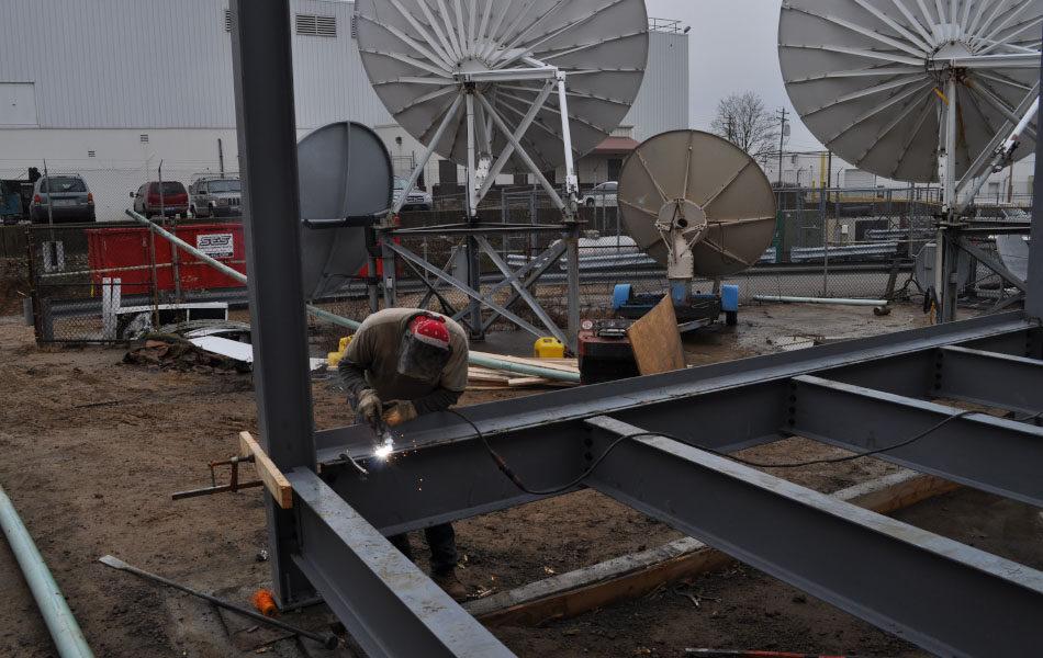 Time Warner Telecom Colocation Room under construction