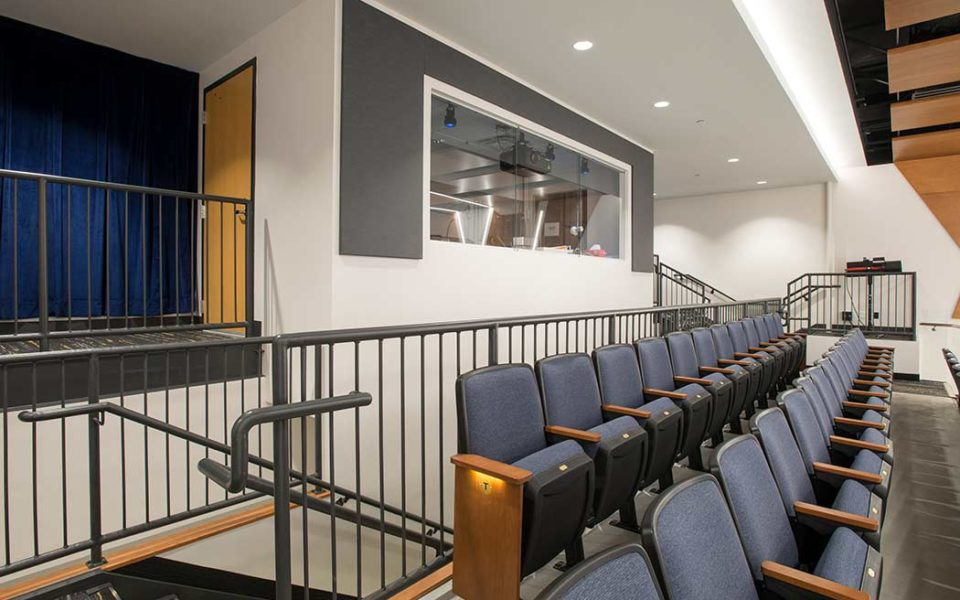 St. Ursula Academy Theater AV Room