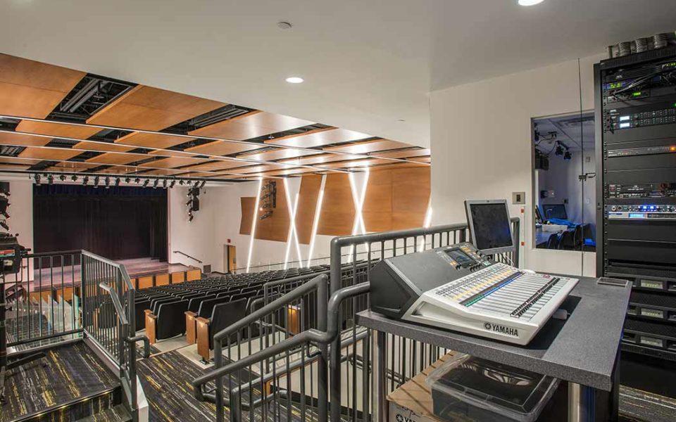 St. Ursula Academy Theater Sound Board