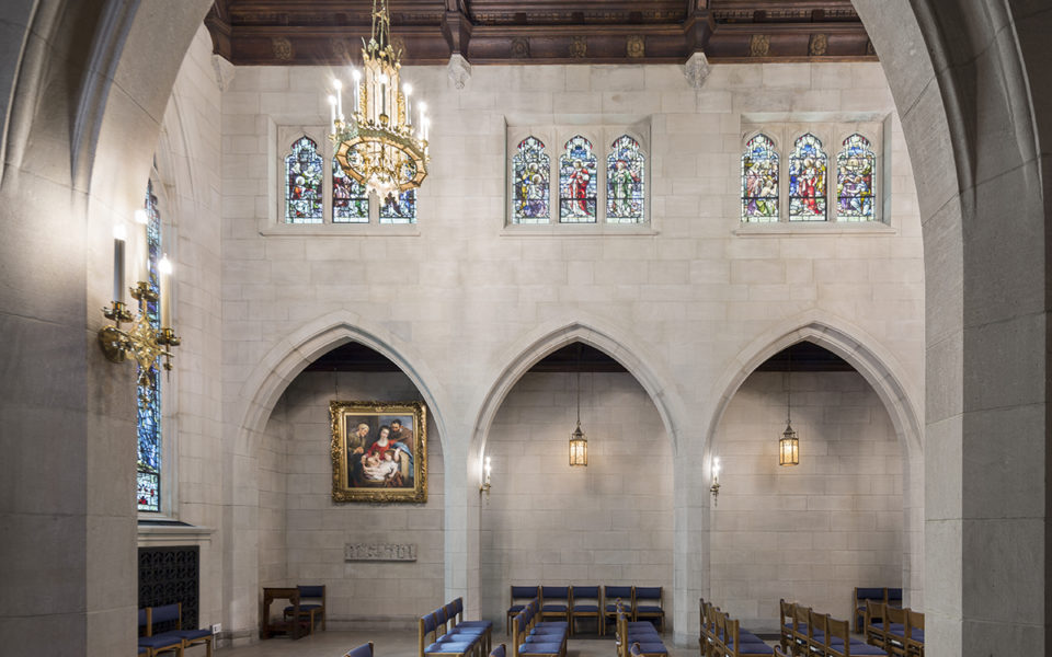 Interior of Christ Church Cathedral Centennial Chapel