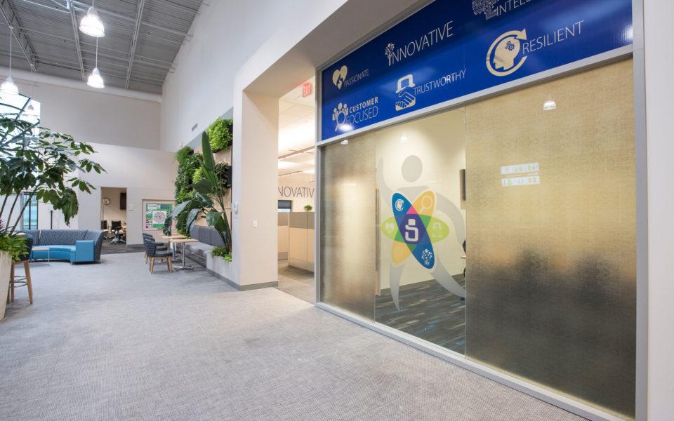 SentriLock Office Lobby