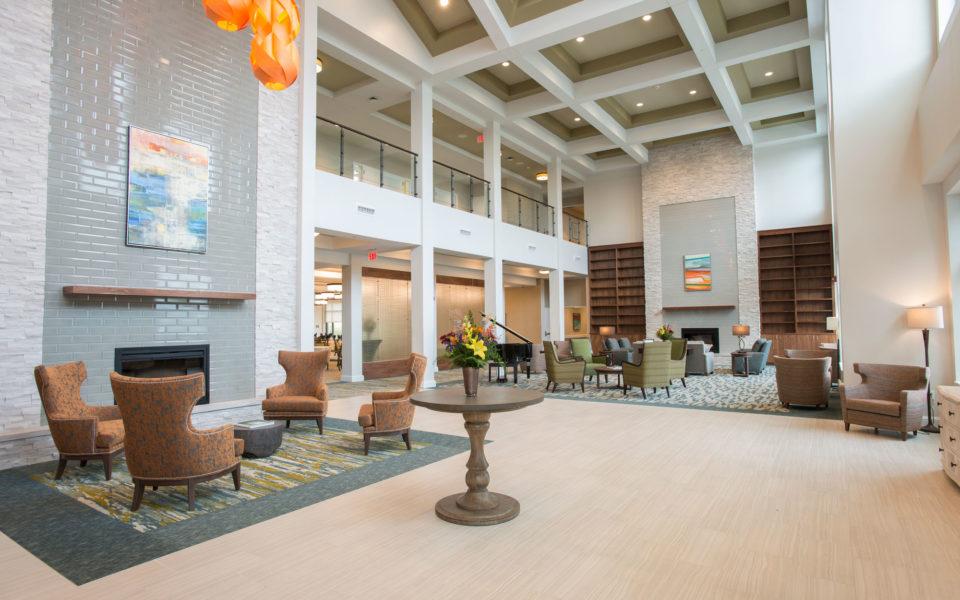 Sheridan grand lobby