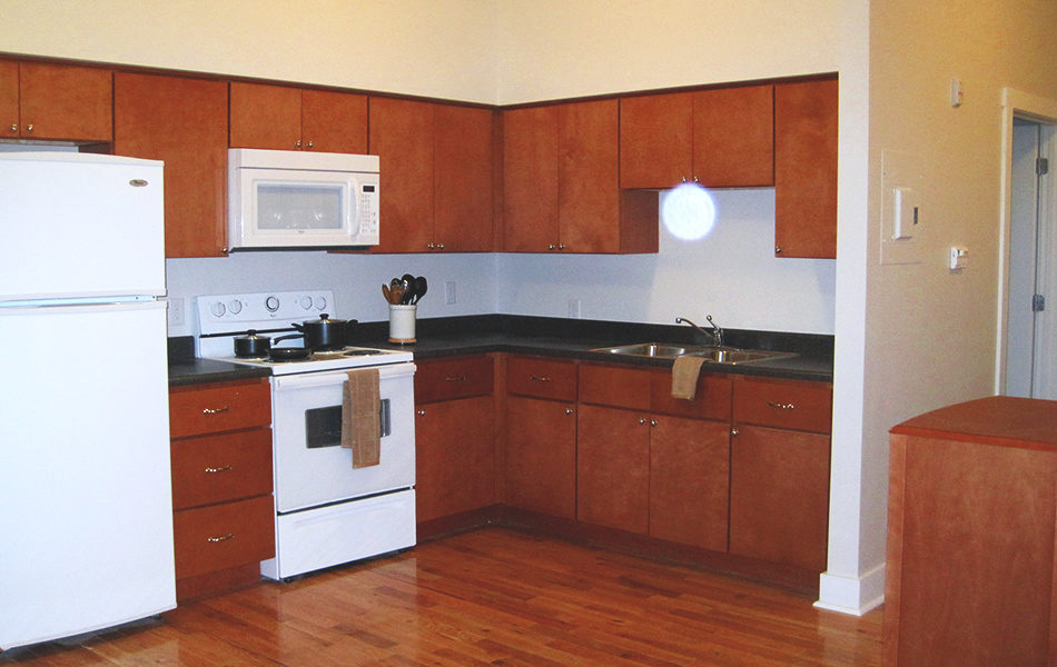 Jimmy Heath House interior kitchen