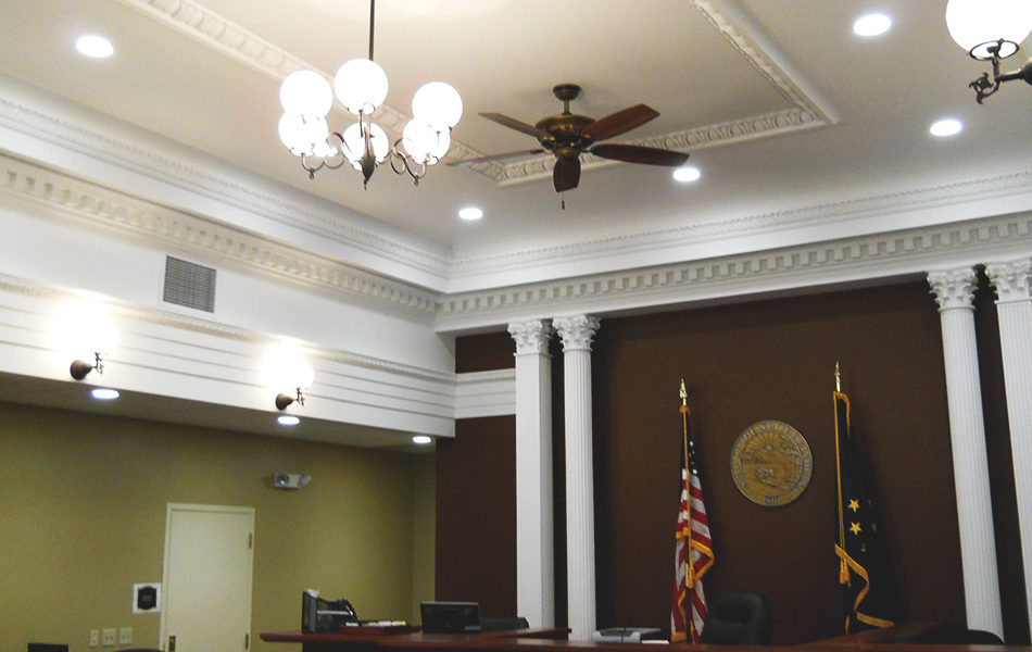 Jefferson County Courthouse interior