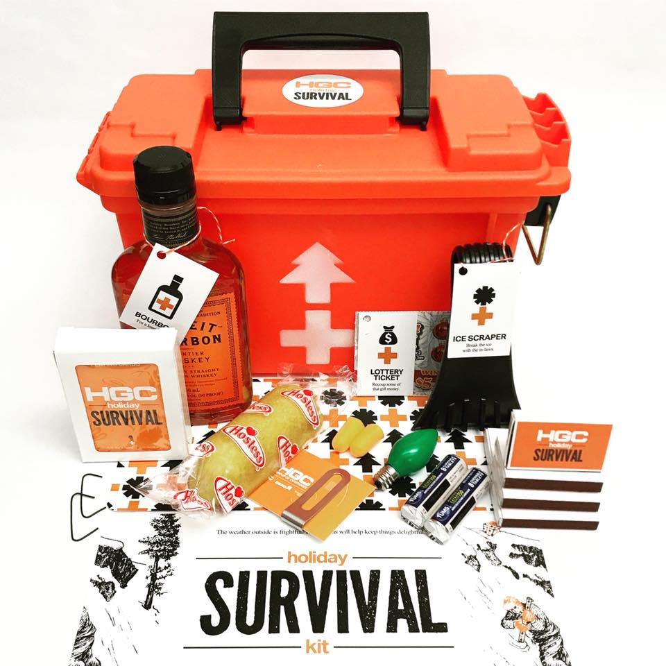 HGC Holiday Survival Kit Gift 2017