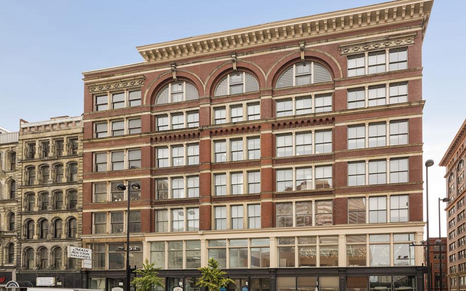 Exterior Hooper Building