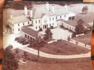 historic photograph of Meshewa Mansion
