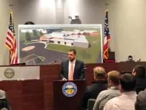 Adam Kuehne at Warren County Probate Juvenile court groundbreaking