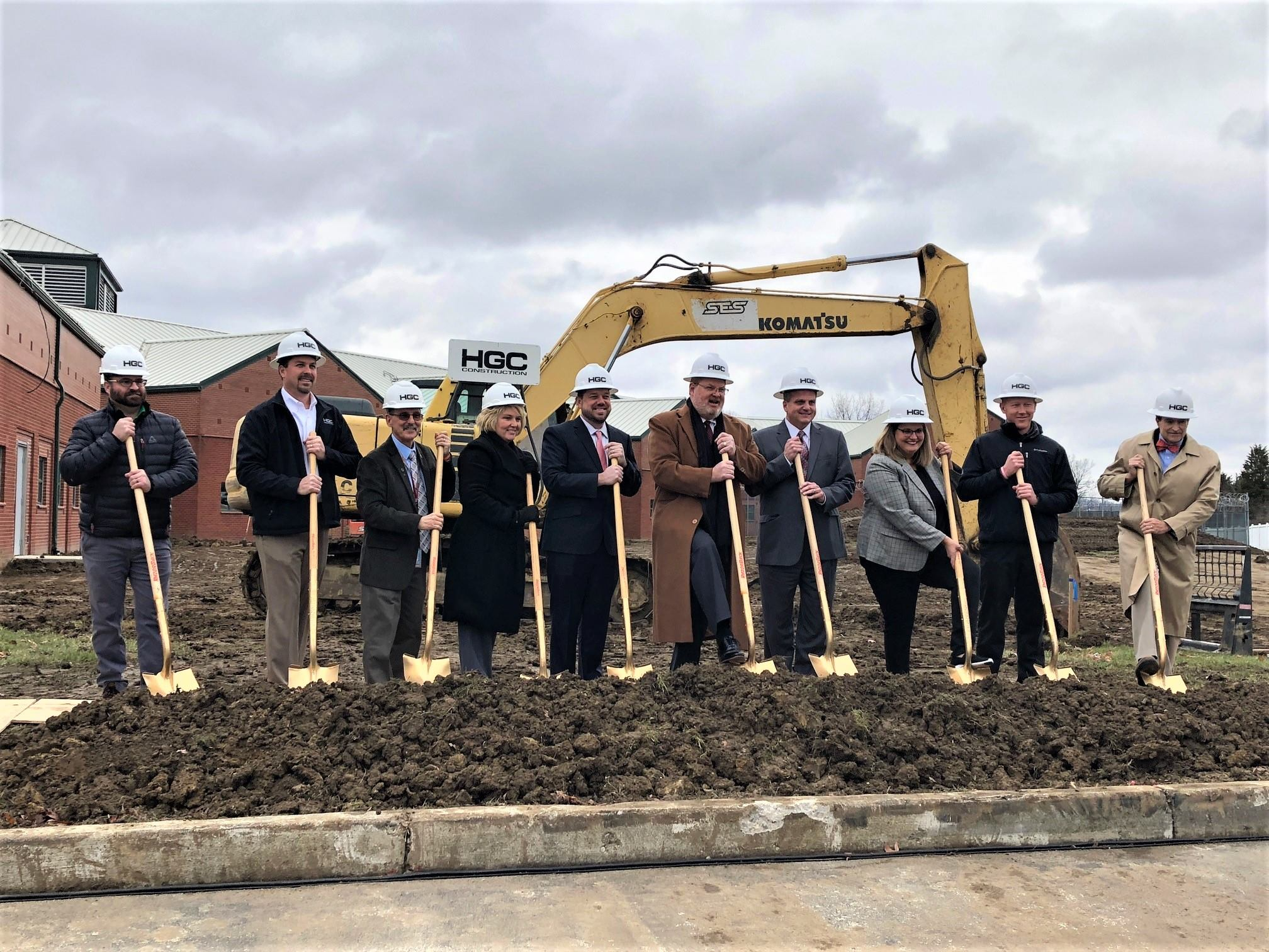 Warren County Juvenile-Probate Groundbreaking