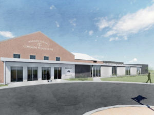 Rendering of Warren County Juvenile Probate court expansion