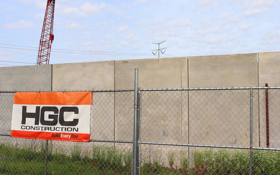 HGC job site of Box self storage