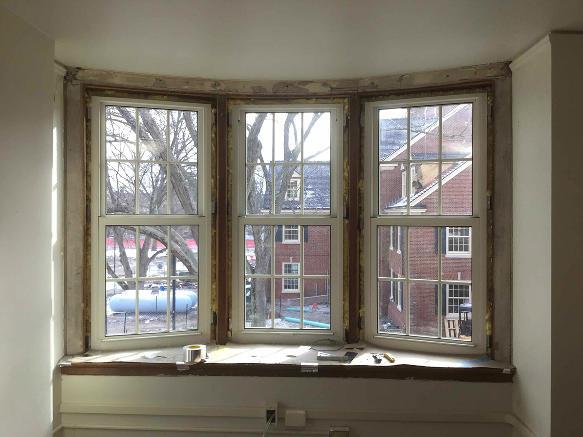 Exterior Window Trim Before And After