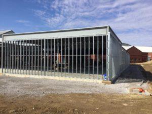 Warren County Court under construction