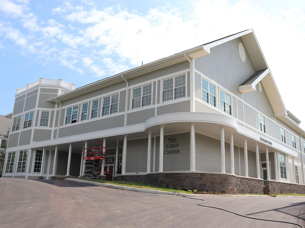 Exterior of Schiff Center