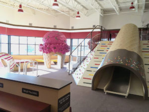 play space in Graeter's Bethl location