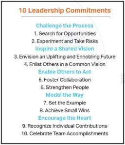 10 Leadership Commitments