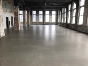 levelcrete inside Ingalls Building