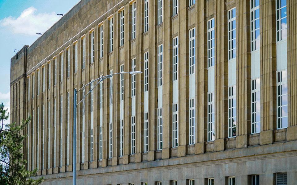 Exterior USPS Windows