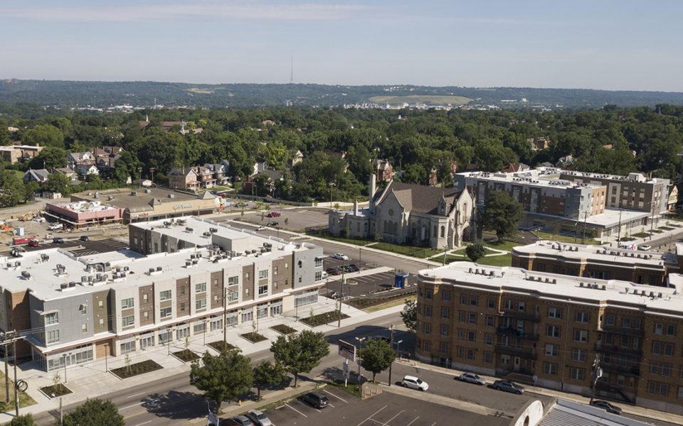 Avondale Town Center aerial