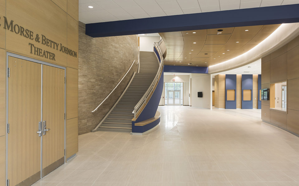 Schiff Center lobby