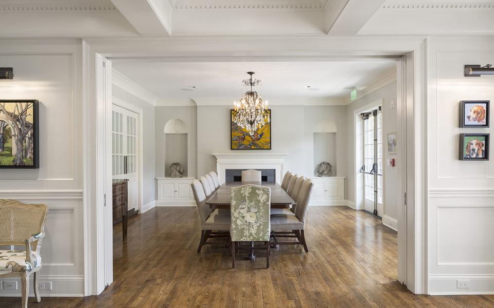Main dining room at Meshewa house