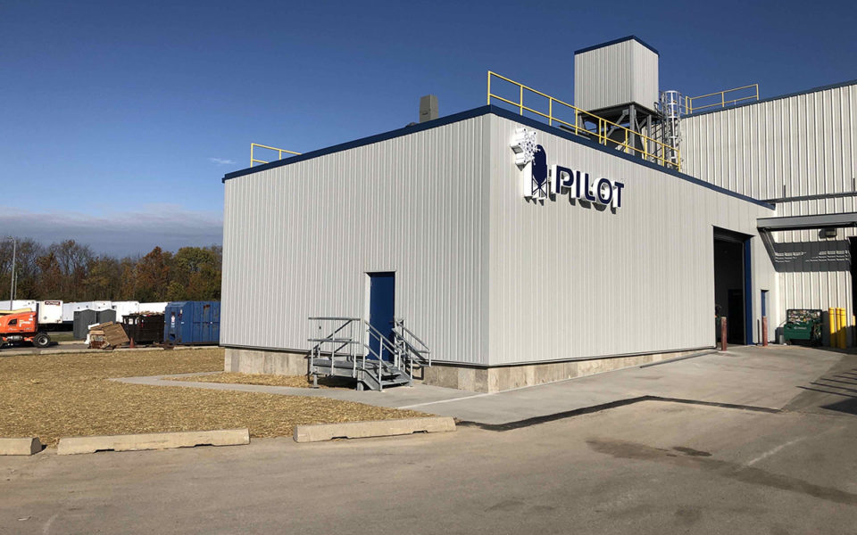 Exterior of Pilot Chemical addition