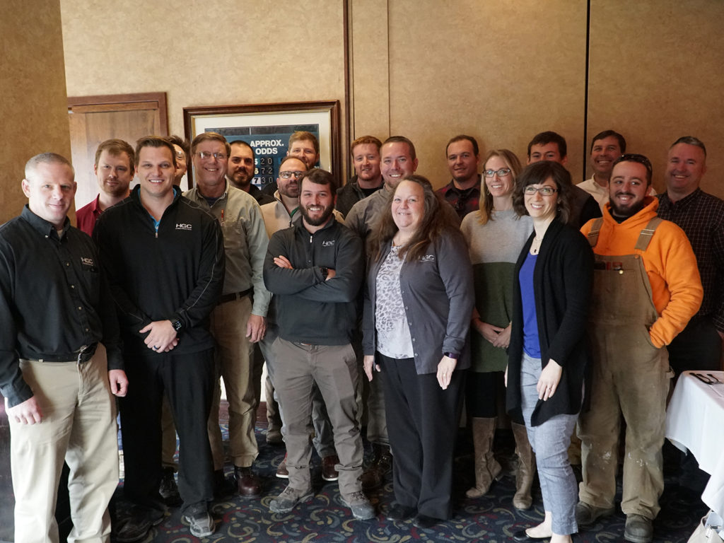 Group photo of Leadership Academy graduates, 2019