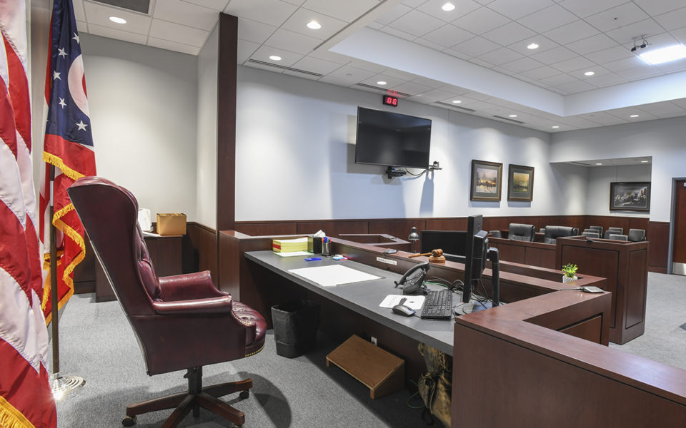 Interior of Warren County Probate and Juvenile Court