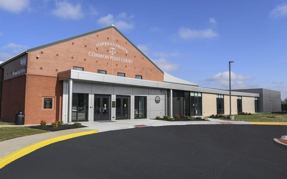 Exterior or Warren County Probate court