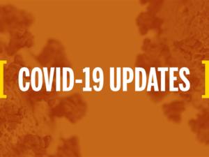 Decorative graphic for COVID-19 udpates