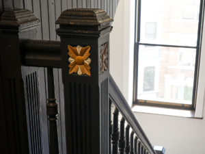 historic stair detail