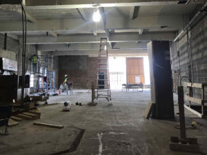 Work is underway at the Fidelity Building, being developed by Ventura Builders Group