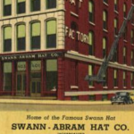historic ad for Swann Hat Factory