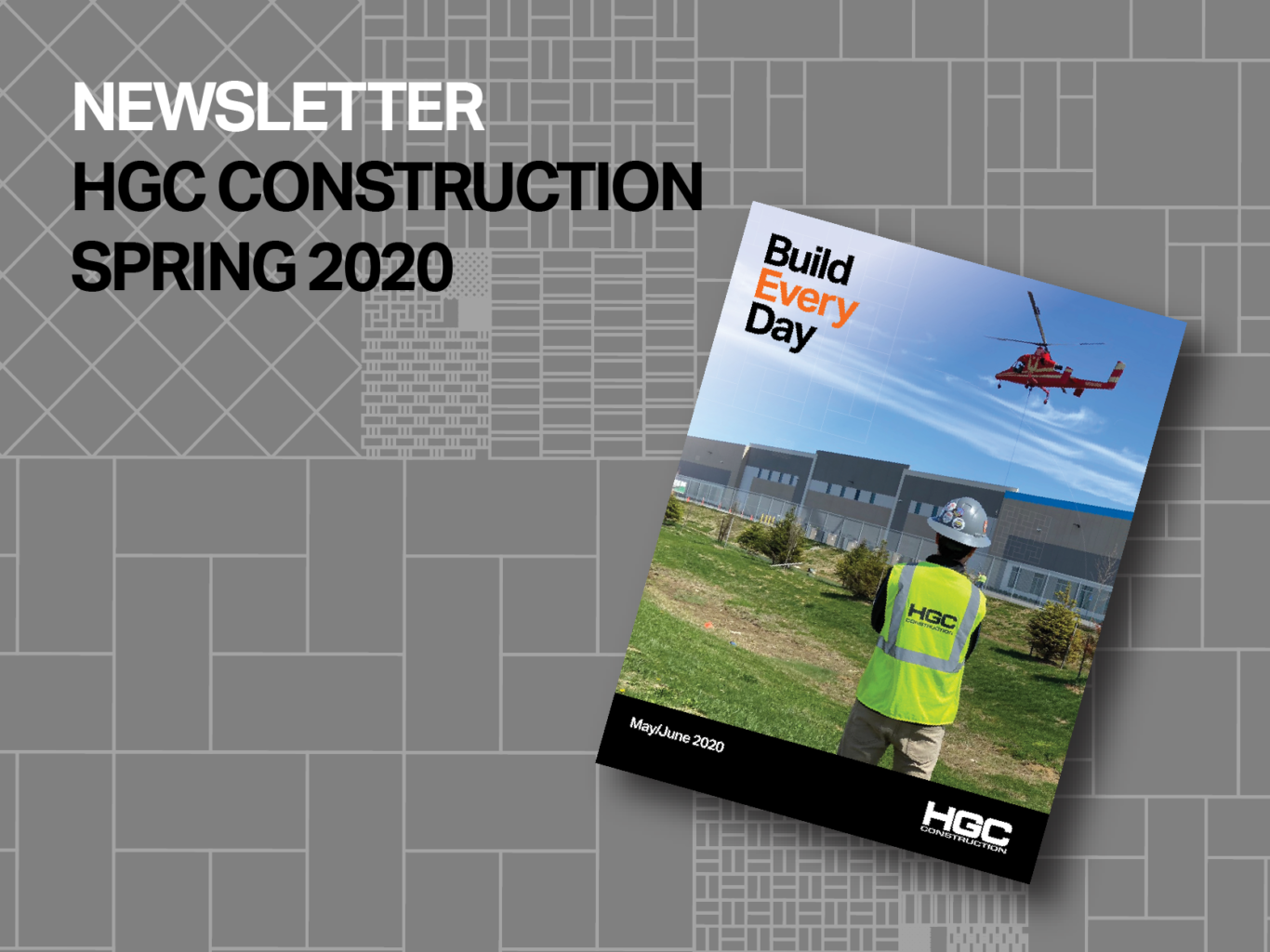 Graphic of Spring 2020 Newsletter