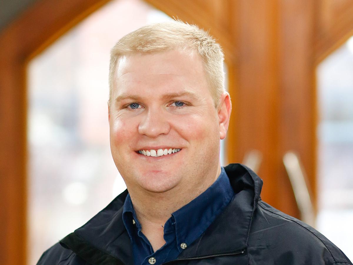 portrait of Jake Suer, Project Executive at HGC