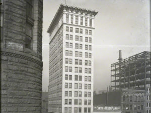 Historic image of Ingalls buildling exterior