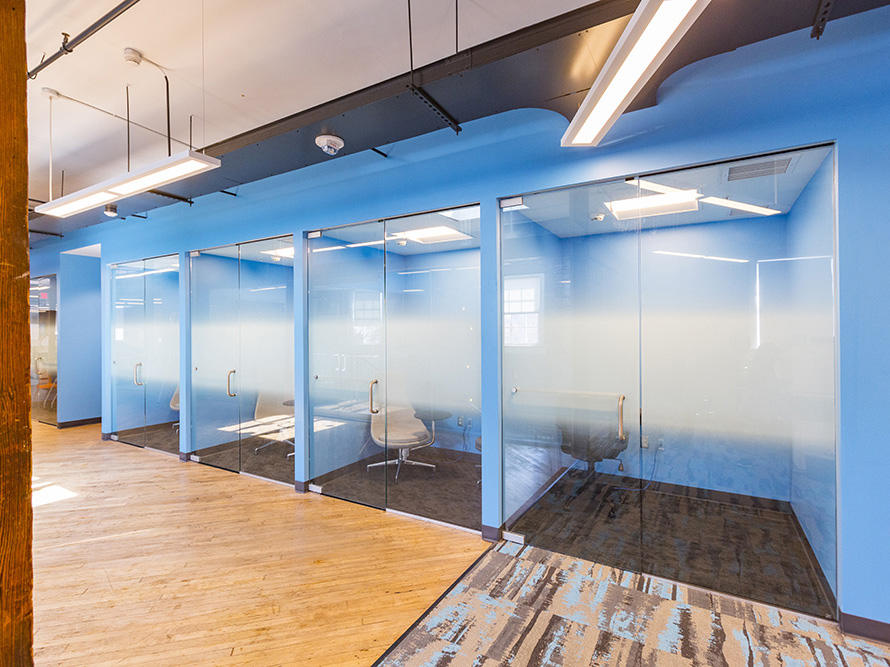 small office rooms show a new trend post-COVID