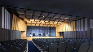 rendering of Madeira auditorium