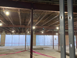 e-commerce warehouse fit-out in Columbus