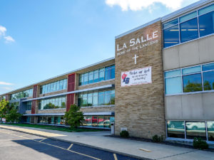 LaSalle High School exterior renovation completed
