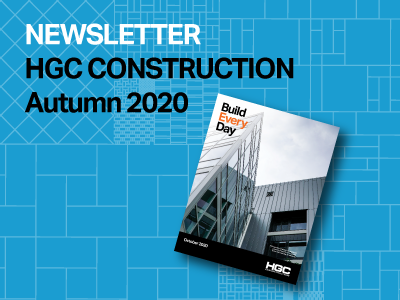 graphic of HGC newsletter of Autumn 2020