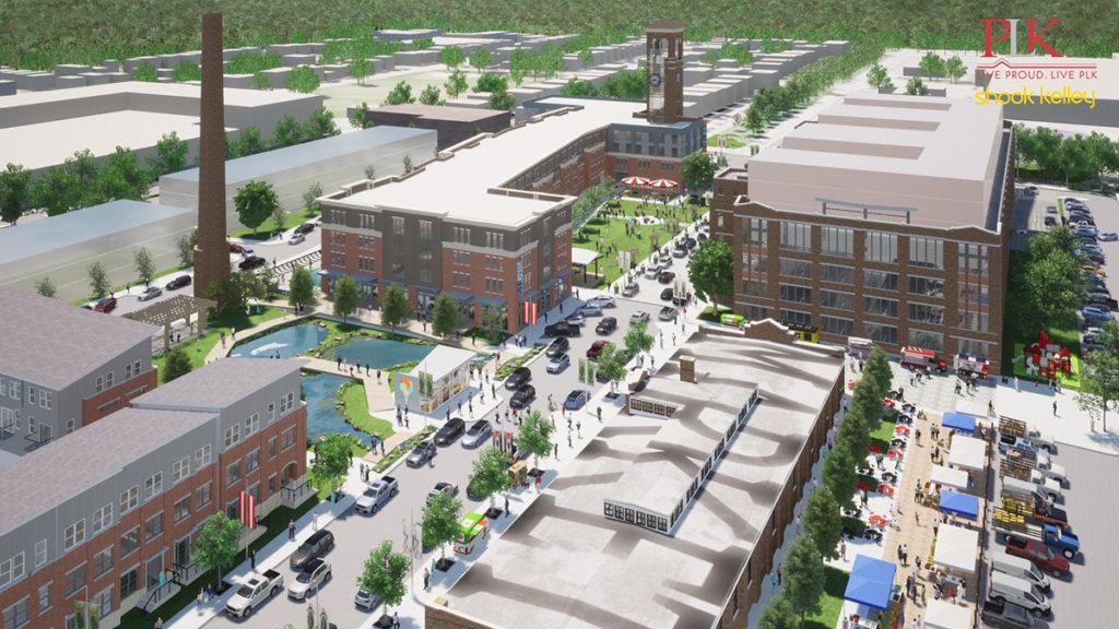 aerial view rendering of Factory 52