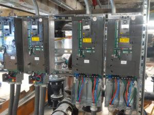 VFD systems for temperature control