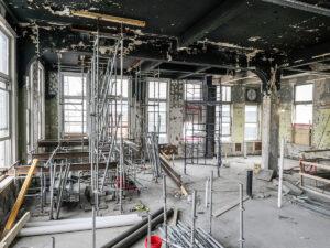 interior of historic renovation Ingalls Building