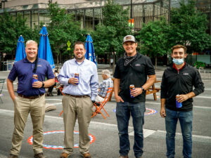 Ingalls Project Team at Fountain Square