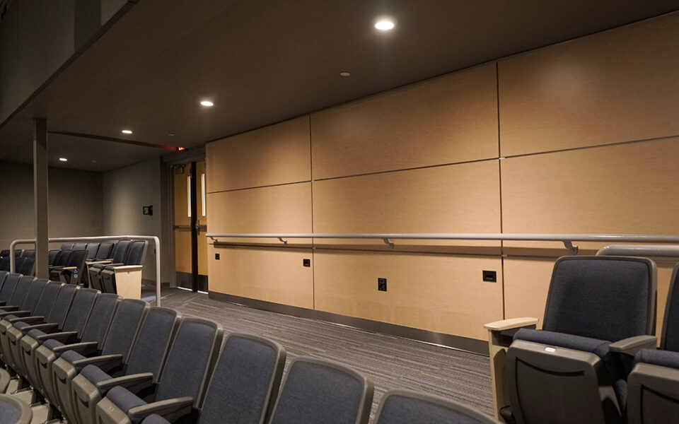 overflow seating for the theater