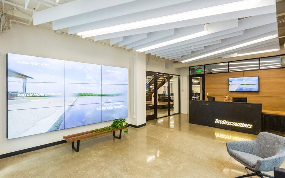 main lobby of office